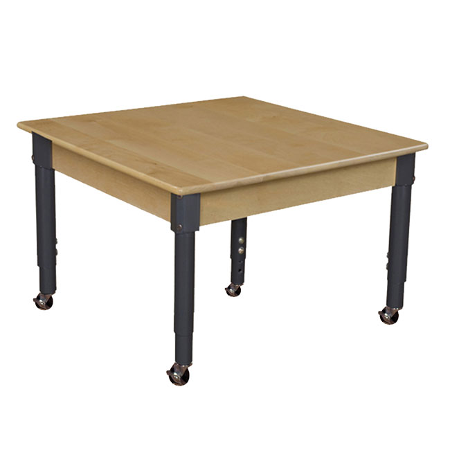 mobile-hardwood-table-with-adjustable-legs-30-square