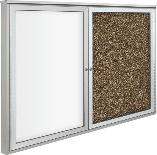 94hagc-o-weather-sentinel-outdoor-enclosed-bulletin-board-w-whiteboard-2-doors-72-w-x-48-h