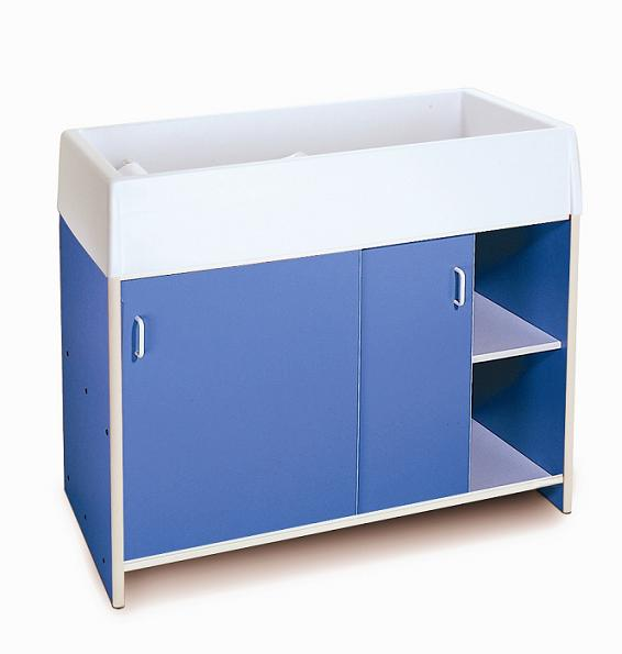 Whitney Brothers Round Edge Infant Care Changing Cabinet